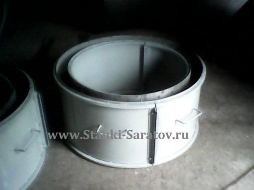 Форма для изготовления кольца колодцев КС 10.6
