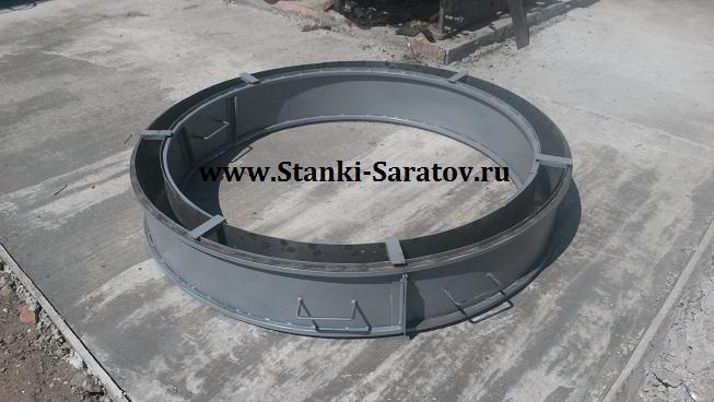 Форма для изготовления кольца колодцев КС 15.3