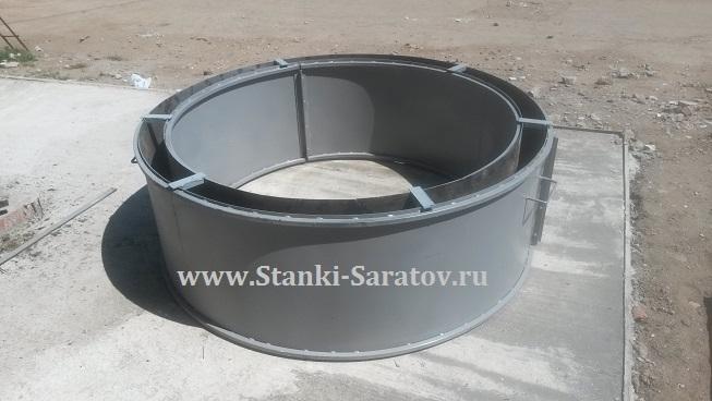 Форма для изготовления кольца колодцев КС 15.6